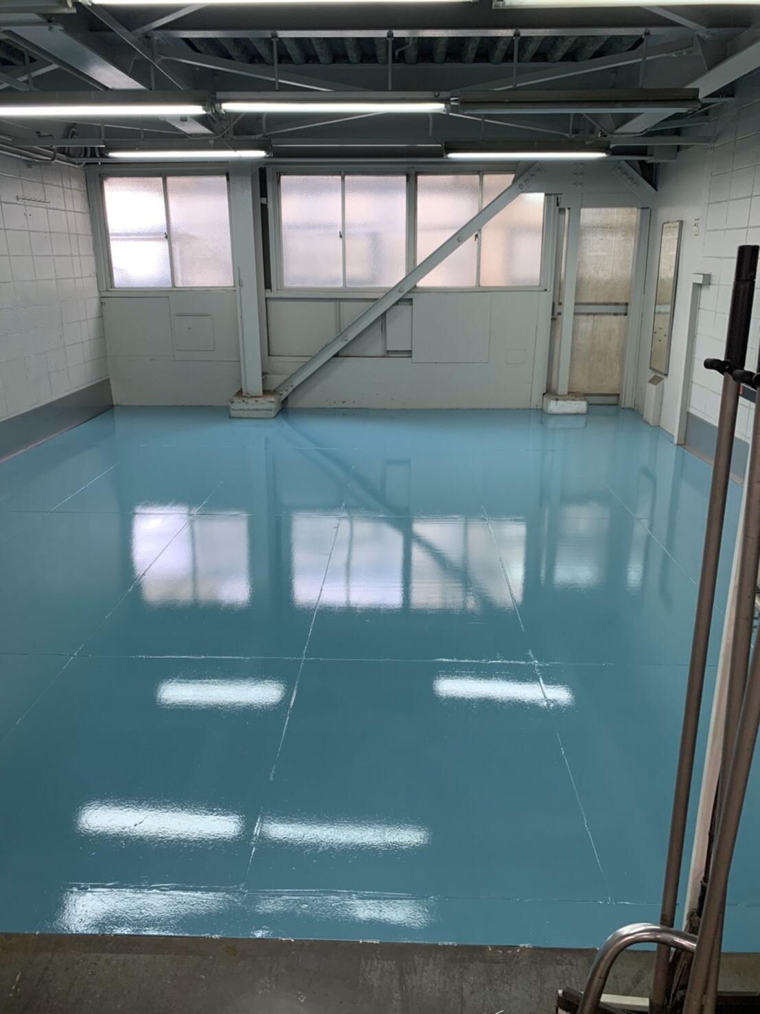 工場床塗装