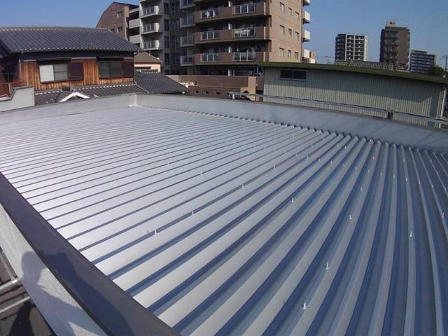 防水屋根塗装